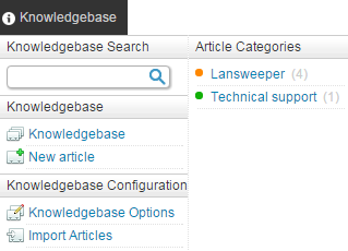 Knowledge base management